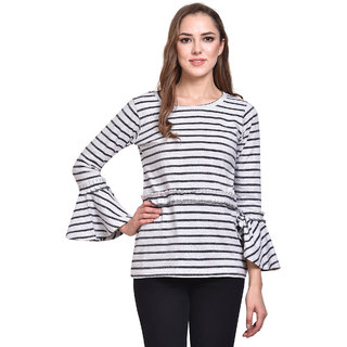Stripe Out Long Top